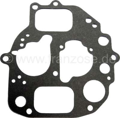 Citroen-2CV Carburettor cover gasket oval, Citroen AMI6, Ami8. Please compare accurately the drawing w