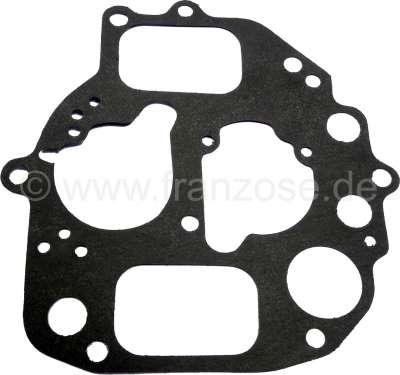 Citroen-2CV Carburettor cover gasket oval, Citroen AMI8, Dyane 6, 2CV6. Please compare accurately the