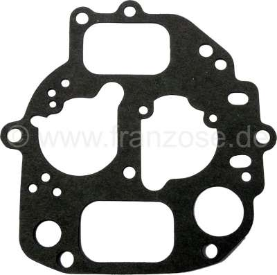 Citroen-2CV Carburettor cover gasket oval, Citroen AMI8, Dyane 6, 2CV6. Please compare accurately the