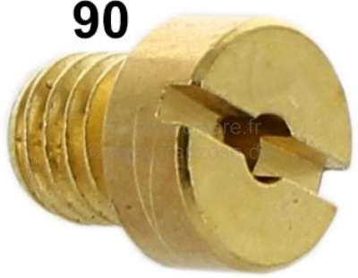 Citroen-2CV Carburetor jet secondary, 2CV6. (oval carburetor) diameter: 90