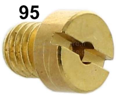 Citroen-2CV Carburetor jet secondary, 2CV6. (oval carburetor) diameter: 95