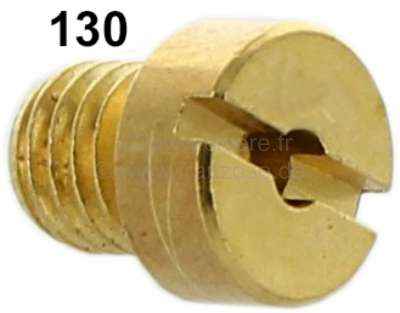Citroen-2CV Carburetor jet secundary, 2CV6. (oval carburetor) diameter: 130