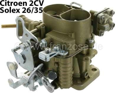 Citroen-2CV Carburetor oval (new part), for Citroen 2CV6, Solex 26/35, the carburetor must be given a
