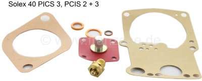 Citroen-2CV Carburetor repair set for Citroen 3CV, Ami 6. Carburetor Solex 40PICS 3 PCIS 2-3.