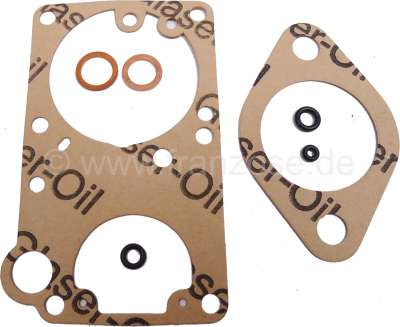 Citroen-2CV Carburetor sealing set for Citroen Ami 6, Dyane. Renault Dauphine, R4, R6. Carburetor Sole
