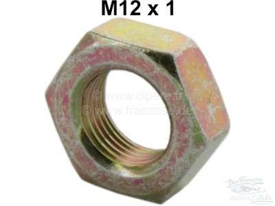 Citroen-2CV Counter nut M12 x 1, for the clutch cable. Suitable for Citron 2CV.