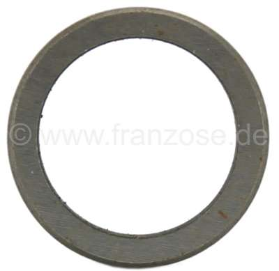Citroen-2CV Centrifugal clutch, check disk for Citroen 2CV. 2,8mm (17x22mm). Or.Nr. AZ33299/AZL6
