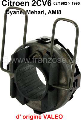 Citroen-2CV Clutch release sleeve for Citroen 2CV6, starting from year of construction 02/1982. Origin