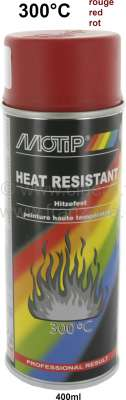 Renault heat-resistant spray paint till 300°C 400ml, colour red