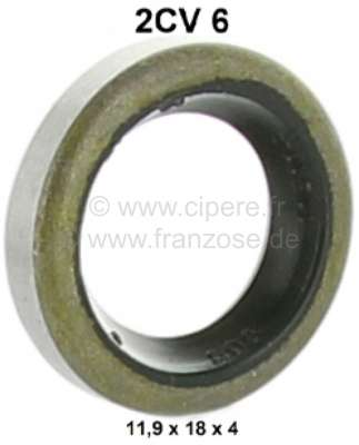 Citroen-2CV Fly wheel, shaft seal for the gearbox main shaft (primary shaft) in the fly wheel. Suitabl