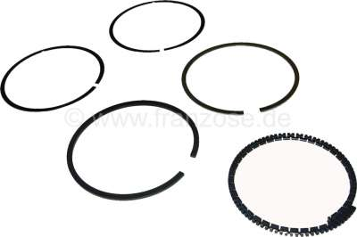 Citroen-2CV Piston rings for Citroen 2CV6 starting from year of construction 1976. (1 set for 2 piston
