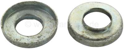 Citroen-2CV Follower tubing seal - sheet metal plates, for Citroen 2CV to year of construction 1972. S