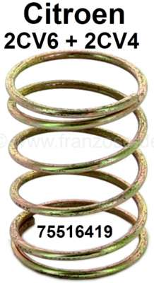 Citroen-2CV Valve push rod tube spring for Citroen 2CV4+6. Or.Nr.: 75516419
