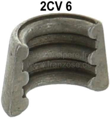 Citroen-2CV Valve spring cotter for Citroen 2CV6, final version. The valve stem has 3 grooves. Suitabl