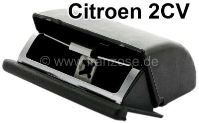 Citroen-2CV Ashtray such as original. For the assembly into the upper dashboard lining. Suitable for C