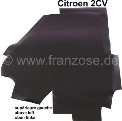 Citroen-2CV Damping/Insulation cover for top left front wall. Suitable for Citroen 2CV6.