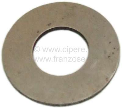 Citroen-2CV Adjustment disk above, for the differential. Suitable for Citroen 2CV. Measurements: 13x28