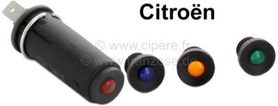 Citroen-2CV Control light Citroen 2CV, HY, DS. Like original, color black with 4 differently colored c