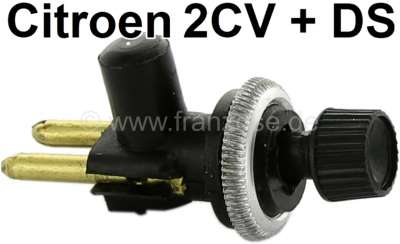 Citroen-2CV Pull switch, round, reproduction of original switches from the 70's! 2cv, DS