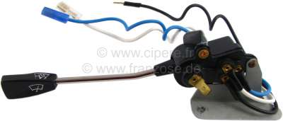 Citroen-2CV Windscreen wiper switch Citroen Ami8. The switch can also be used for Citroen DS starting