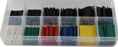 Citroen-2CV Heat shrink tubing. These handy sheaths form a protective water resistant insulation over