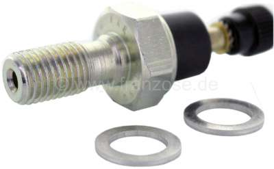 Citroen-2CV Oil pressure switch, suitable for Citroen Visa 652. Response pressure: 0,5 bar. Thread: M1
