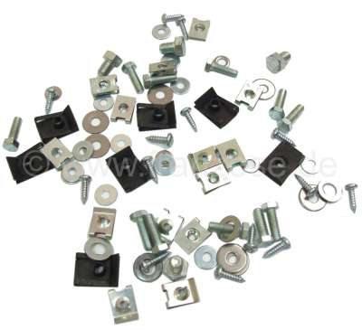 Citroen-2CV Screw set suitable for the engine cooling system, for Citroen 2CV6. Contants all screws an