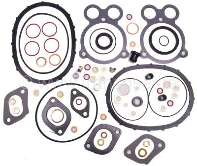 Citroen-2CV Visa 652, engine gasket set for Citroen Visa 2 liners. First version, without shaft seals.