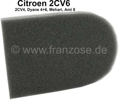 Citroen-2CV Foam material plate on the flap of the heat exchanger, per piece! For Citroen 2CV 4+6.