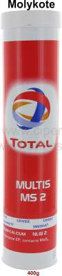 Sonstige-Citroen Molykote grease in cartouche for lubricating gun. 400g (graphite grease). Heavy duty rolle