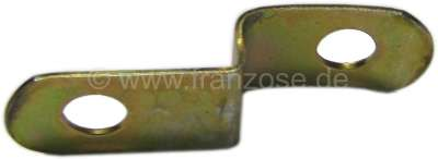 Citroen-2CV Tie rod lever safety sheet, suitable for Citroen 2CV. For tie rod levers with gradated sec