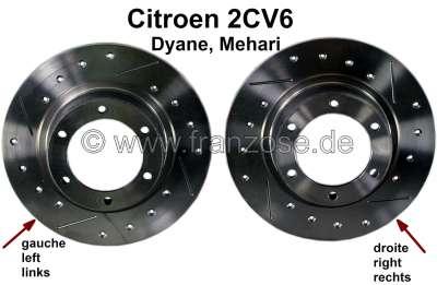 Citroen-2CV Brake disks