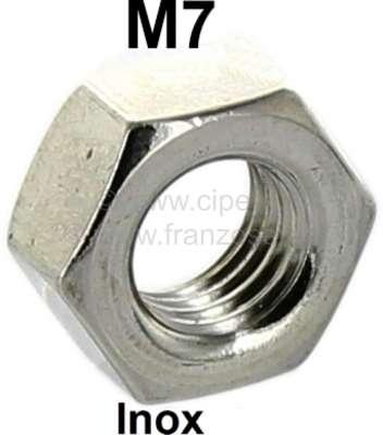 Citroen-2CV Nut, high-grade steel, M7