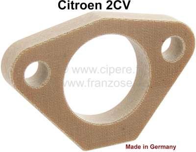 Citroen-2CV Gasoline pump distance plate, reproduction. Suitable for Citroen 2CV6 + 2CV4.