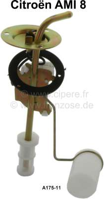 Citroen-2CV Fuel sender, Citroen AMI 8, 12 Volt, reproduction, A175-11, please order the fuel sender g