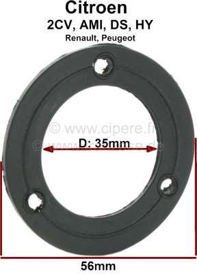 Citroen-2CV Fuel sender seal from rubber. Suitable for Citroen 2CV + Citroen DS, Renault. Per piece.