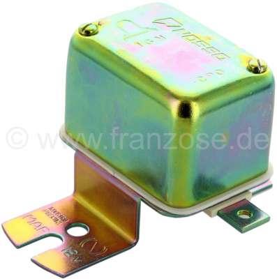 Citroen-2CV Battery charging regulator electro-mechanical, 12 V. With screw connections! For Citroen 2