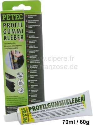 Peugeot Glue for rubber. 70ml.