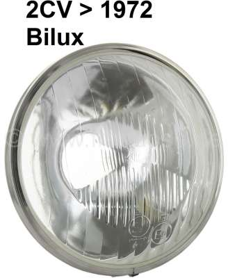 Citroen-2CV Headlight insert double-filament bulb, reproduction. Suitable for Citroen 2CV, to about ye