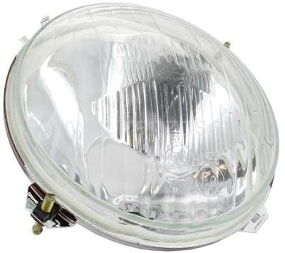 Citroen-2CV Headlight insert on the right. Suitable for Citroen Dyane + Mehari, to year of constructio