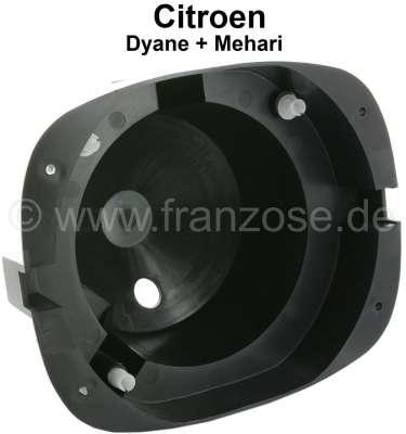 Citroen-2CV Headlight pot Dyane/Mehari,  made of plastic, fits left or right.