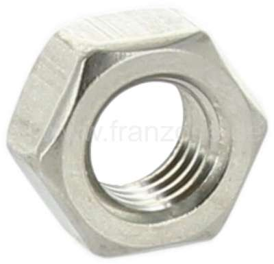 Citroen-2CV High-grade steel nut for the securement of the headlamps on the headlamp carrier. Suitable