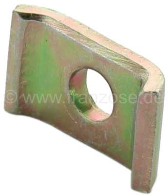 Citroen-2CV Heater cable sheet metal holder, securement of the heater cable on the heat exchanger. Thi