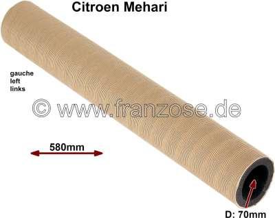 Citroen-2CV Heater hose on the left of Citroen Mehari. Diameter 70mm, 580mm long, isolate  with 10mm f