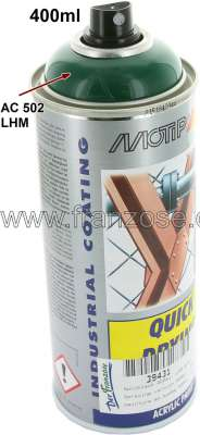 Citroen-DS-11CV-HY Spraying varnish 400ml, LHM green. Approximate varnish (RAL 6005). Corresponds rather accu