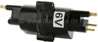 Citroen-2CV Ignition coil, for Citroen 2CV with 6 V technology, this coil is also in first Citroen DS