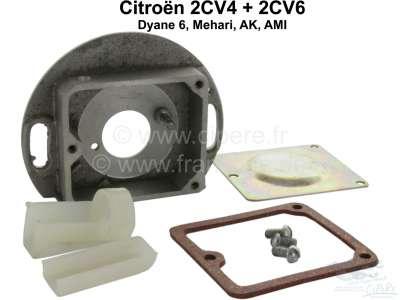 Citroen-2CV Ignition contact case, empty, for Citroen 2cv.