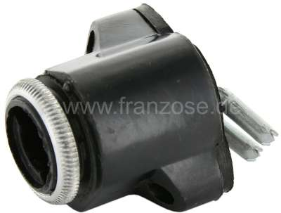 Citroen-2CV Starter lock mounting (without lock cylinder) for Citroen 2CV, with starter lock above at