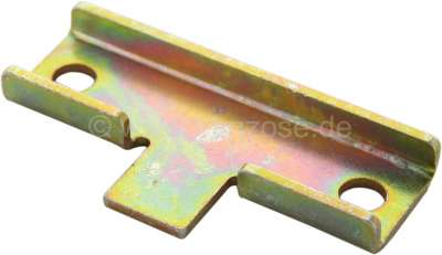 Citroen-2CV Starter lock, mounting plate under the starter lock, mounting of the leaving nuts from the