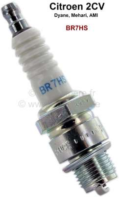 Citroen-2CV Ignition plug NGK BR7HS for Citroen 2CV. The best plug for 2CV, interference-suppressed.